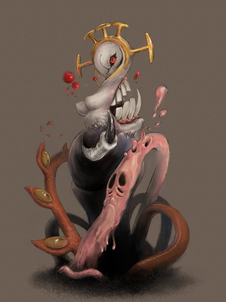 Double - Skullgirls by necyda