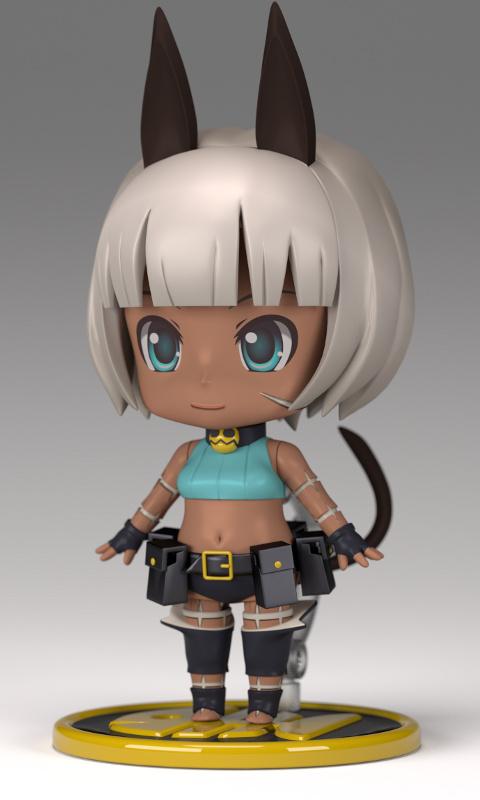 Nendoroid Ms. Fortune - skullgirls by necyda