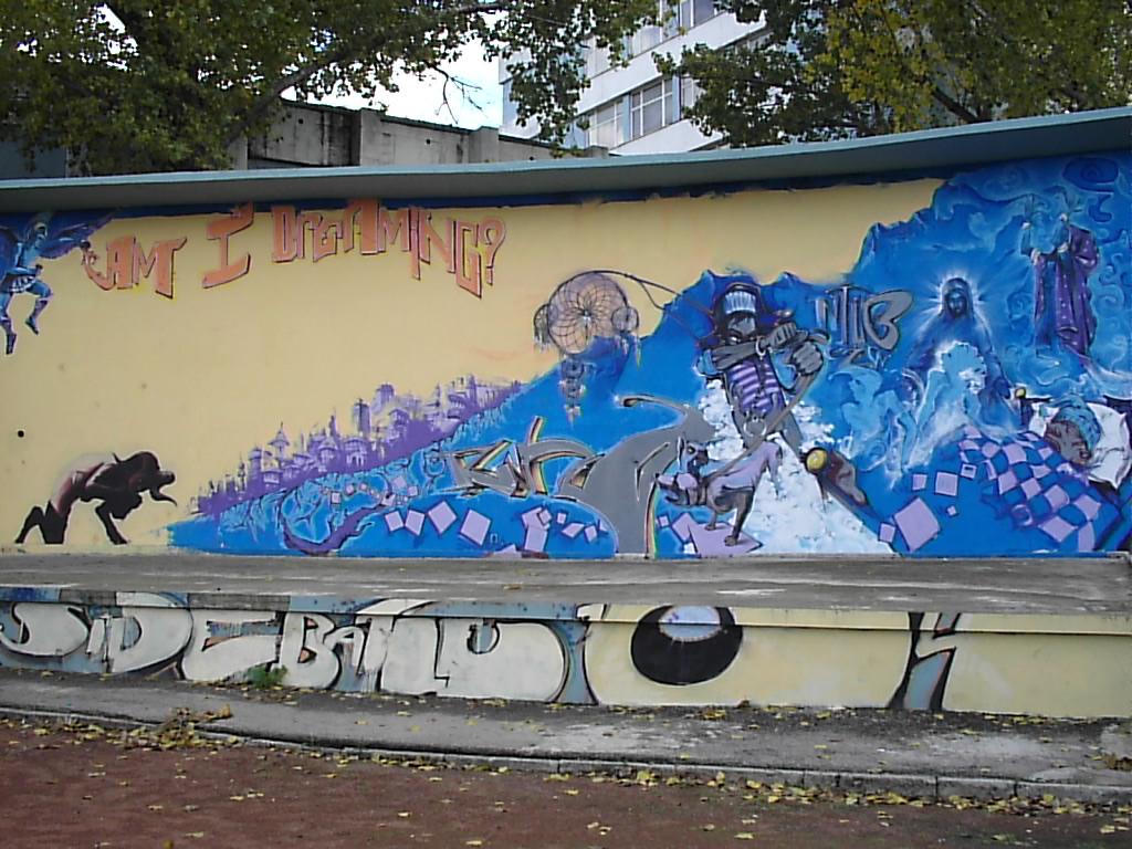Grafiti yapılır grafiti terimleri smiley harfler / pembe-grafiti