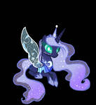 MLP luna reformed changeling by DayDreamSunset23