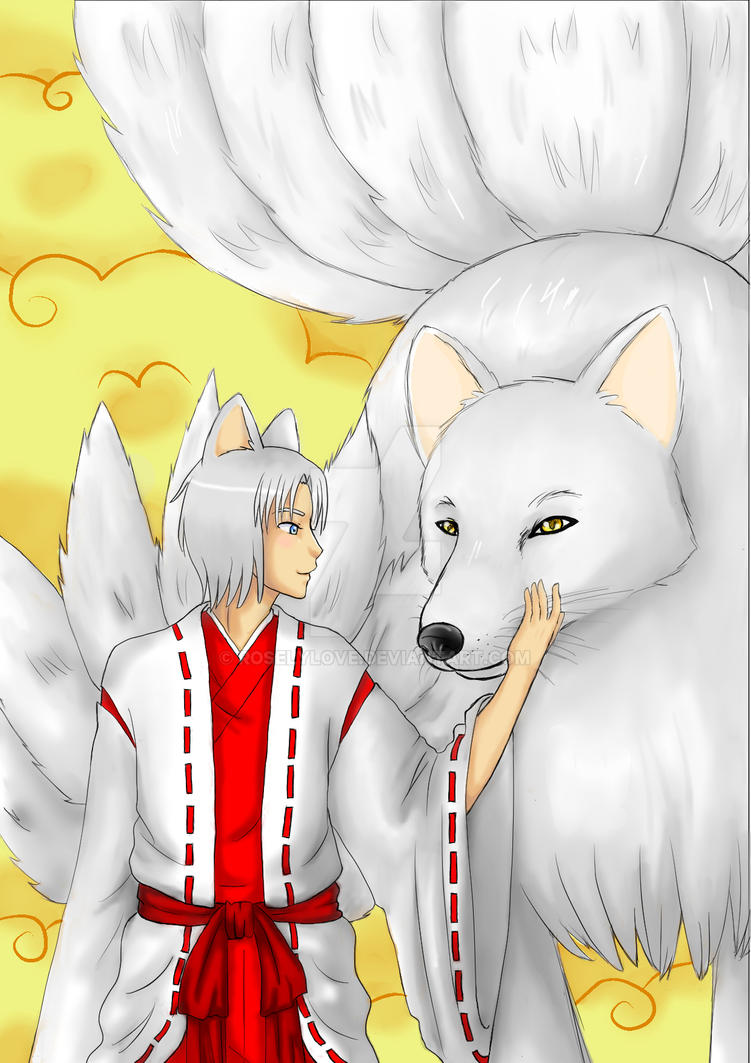 Kitsune by RoselyLove