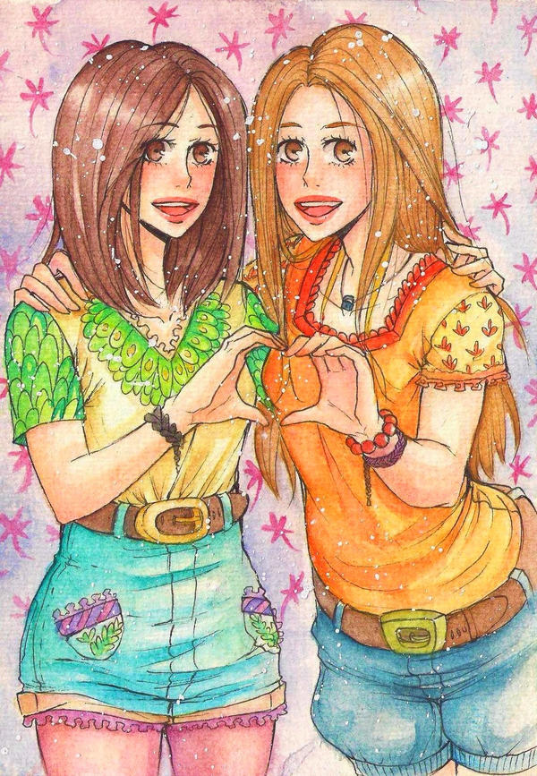 friendship by Ayayou