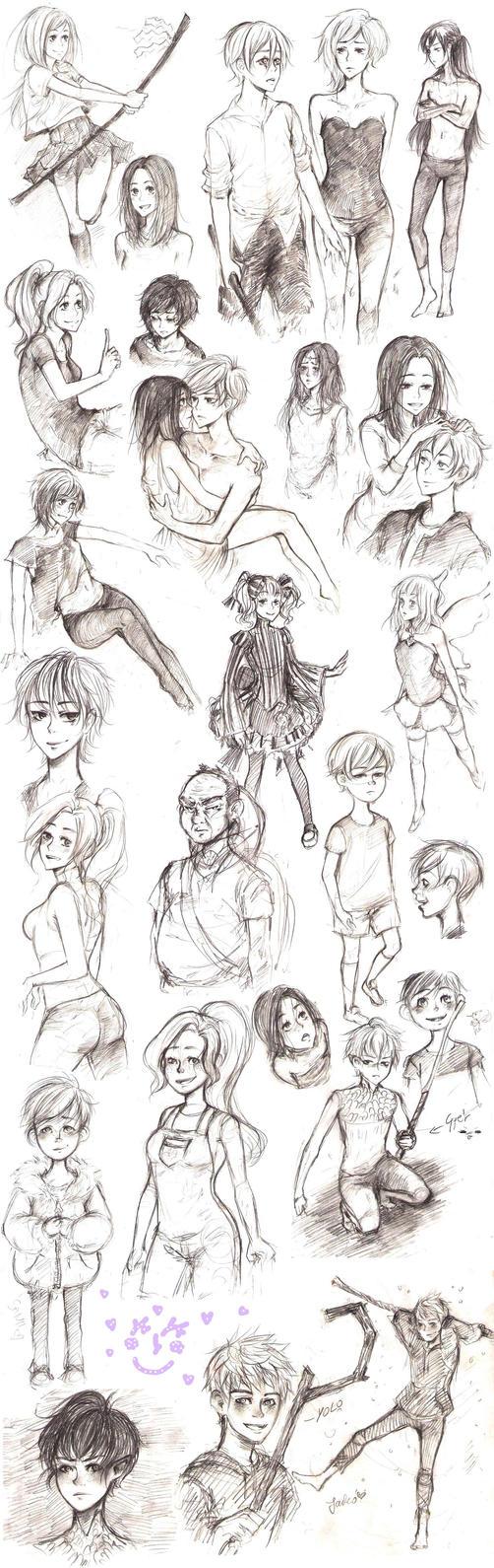 sketch nov by Ayayou