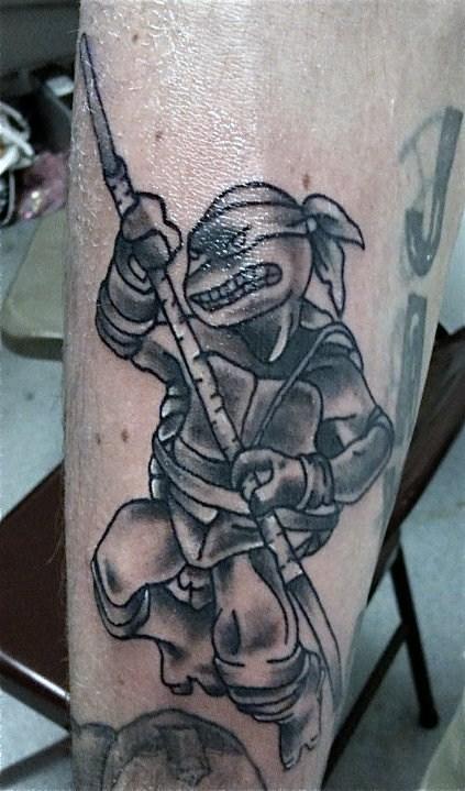 Ninja turtle tattoo by aireelle on deviantart for Ninja turtles tattoo