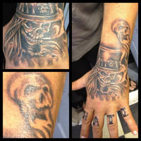 Free handed hand cover up by AirEelle