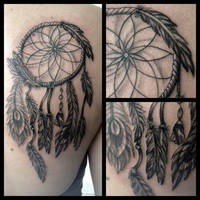 Dreamcatcher Tattoo by AirEelle