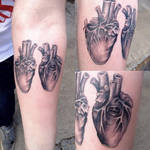 Da Vinci hearts tattoo