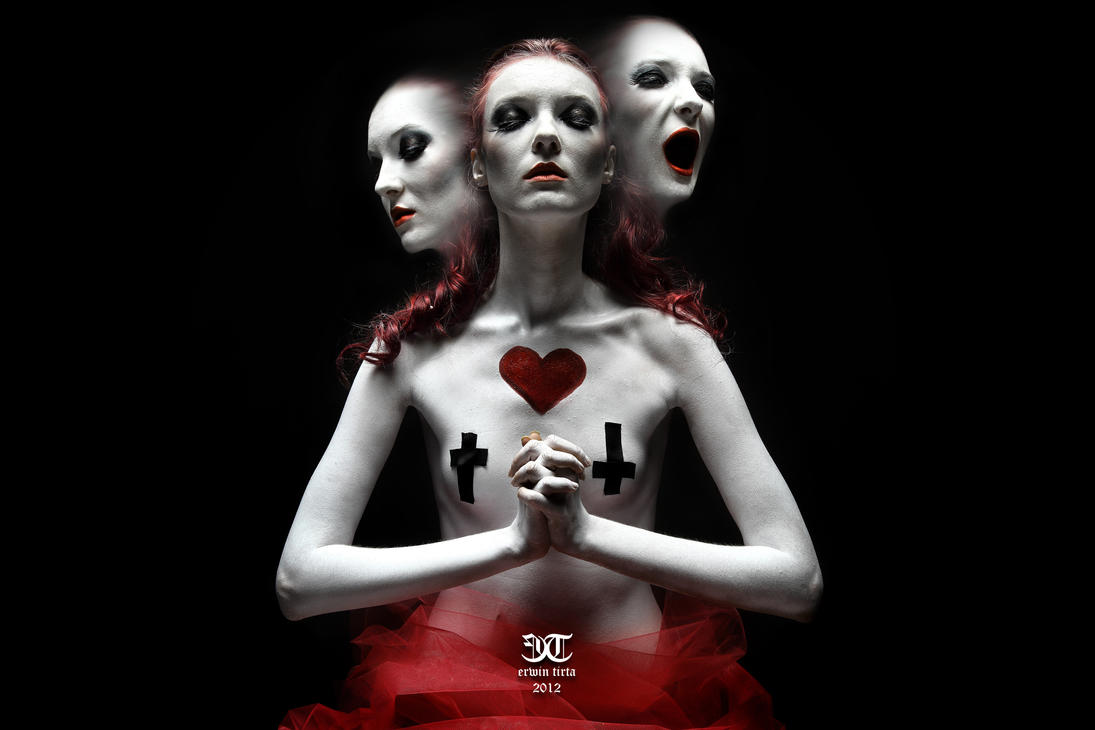 ''Queen of Hearts'' - Noire Series 2012 by erwintirta