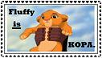 ::Fluffy is Kopa:: stamp by Znoff