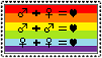 ::Love is love:: stamp by Znoff