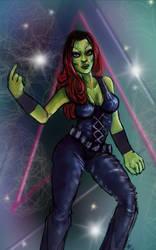 Gamora by SilentWillows