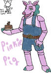 FNaF OC: Pinkie Pig (redesigned)