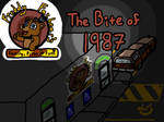 ''Bite of 1987'' Comic Title Card