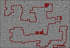 Maze Solved by Jphyper