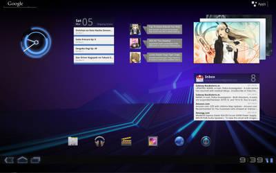 HoneyComb Desktop by brbk