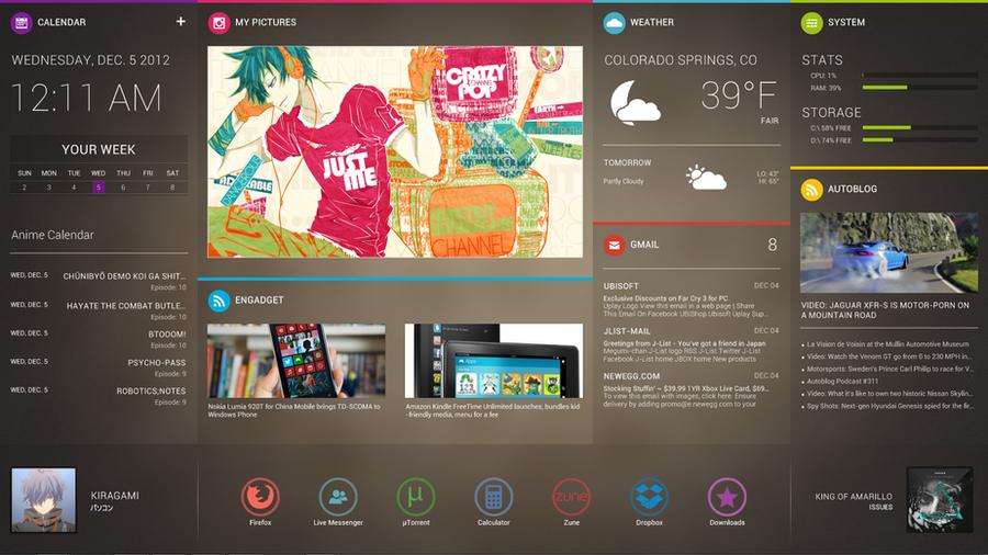 December Desktop by brbk