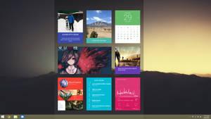 April Desktop by brbk