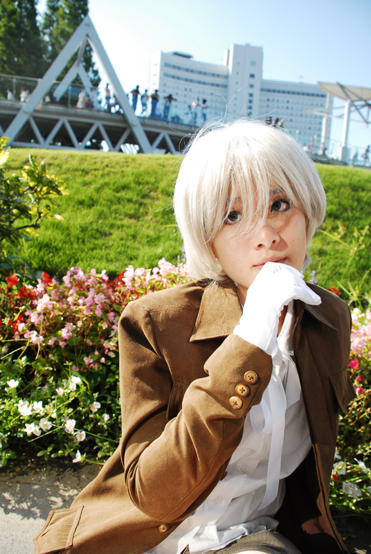 Hetalia: Iceland at comiket by gomimushi