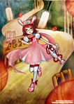 Commission: In the Cricket Witch's Barrier