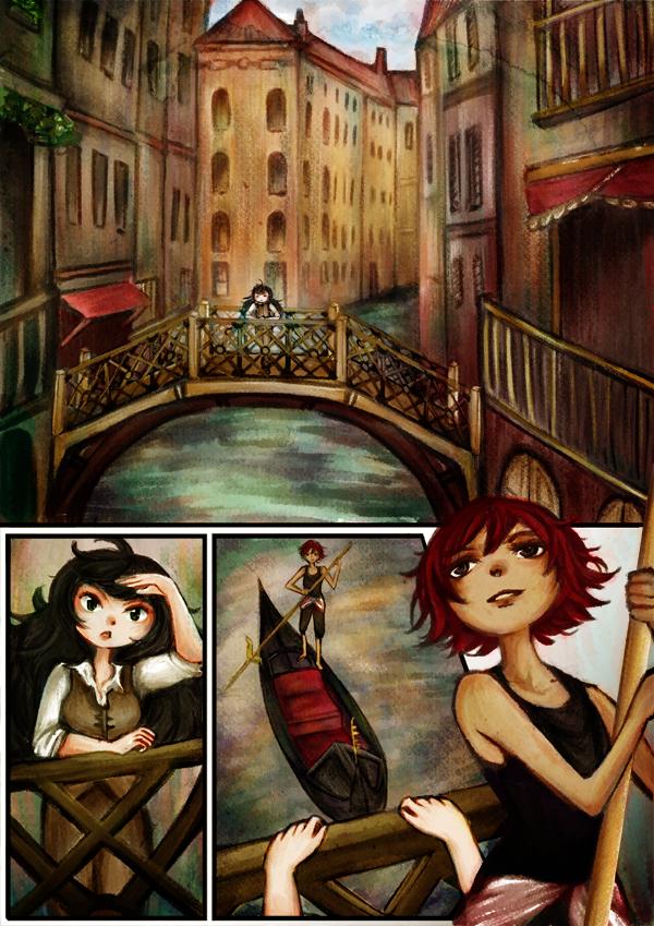Comic: Carmen and Leandra by gomimushi