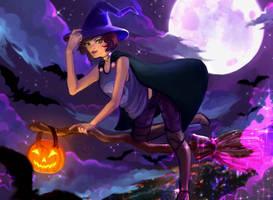 Halloween YCH!! by tattieyanne