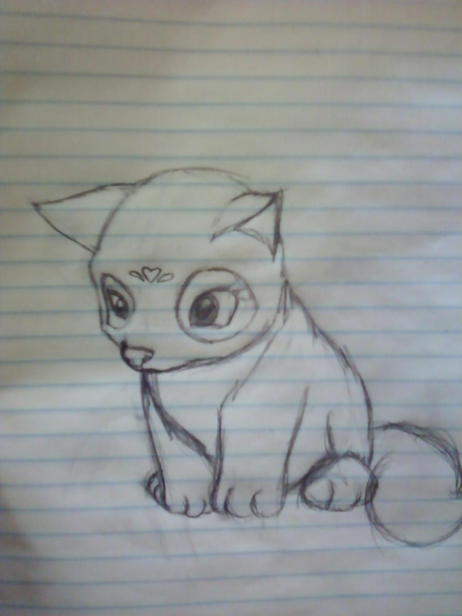 Sketch LMLB wolf by Li...