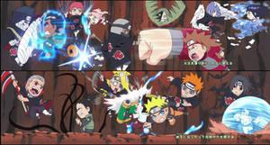 Naruto SD featuring Akatsuki