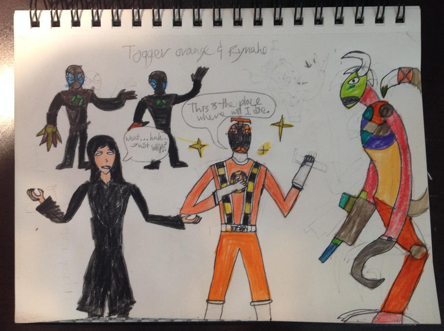 Rynaho and Toqger orange by Drawbot908 on DeviantArt