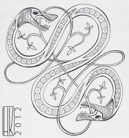viking knot  Tumblr