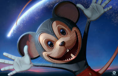 Mickey the mouse