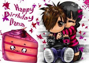 HappyBirthday Dana by lamperouge-san