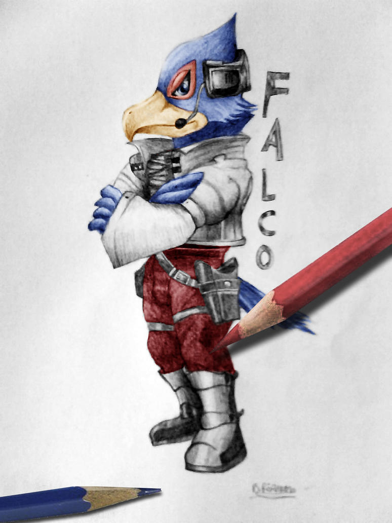 Super smash bros brawl:Falco color - 117.5KB