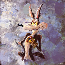 Wile E Coyote by TheBRStory