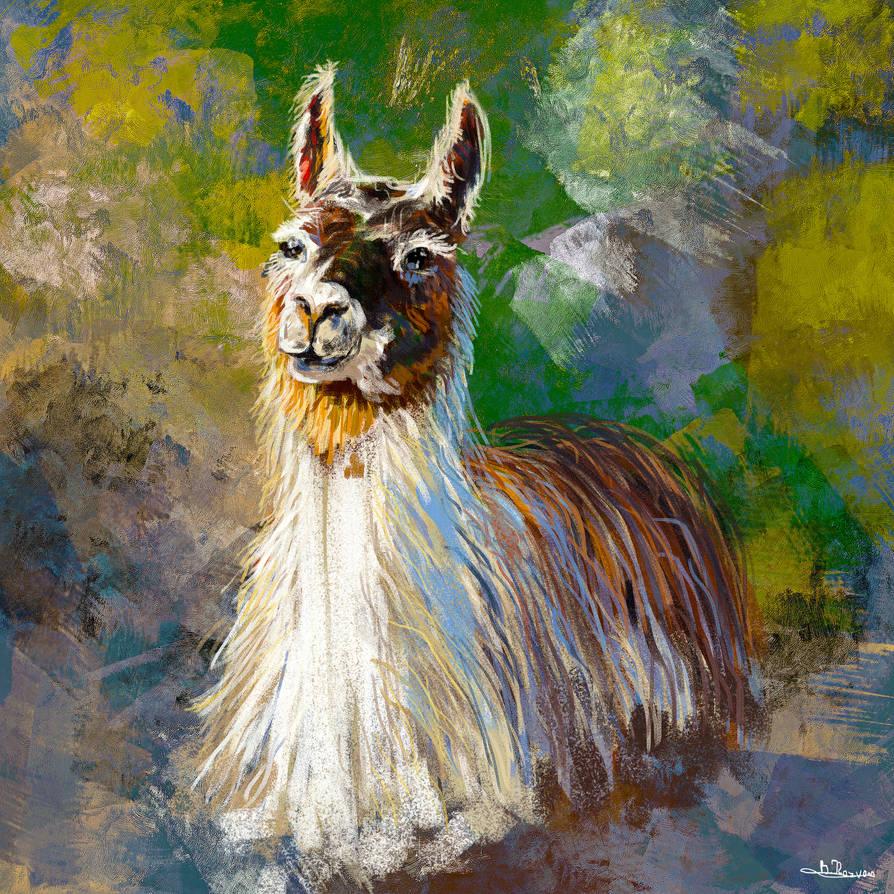 Llama by TheBRStory