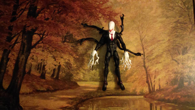 Slender man, the action figure