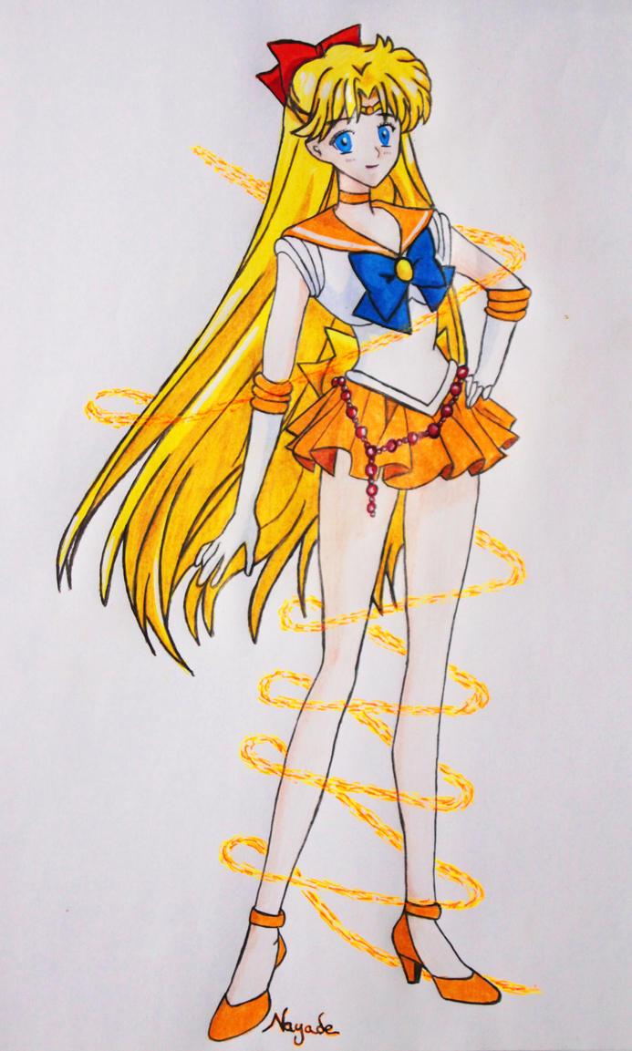 Sailor Venus by NayaGm