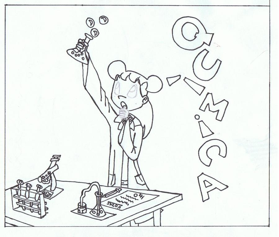 Moderno Colorear De La Química Viñeta - Dibujos Para Colorear En ...