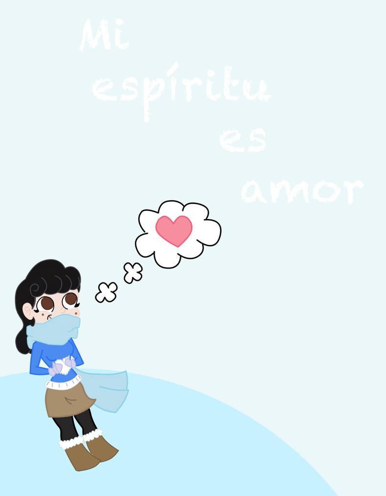 Mi espiritu es amor by Camichicamagica