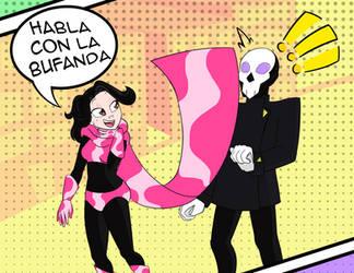 Habla con la Bufanda, amigo