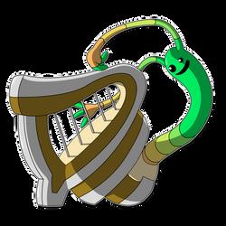 Sneili - Harp Form by DeadBedSpread