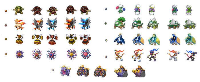 Custom Mega Evolutions V.2