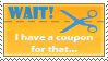 coupons, coupons.... by ChibiSofa