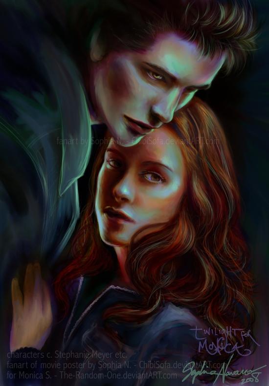 Twilight fanart for Monica by ChibiSofa