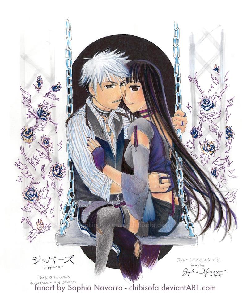 Zippers - Hatsuharu and Rin by ChibiSofa