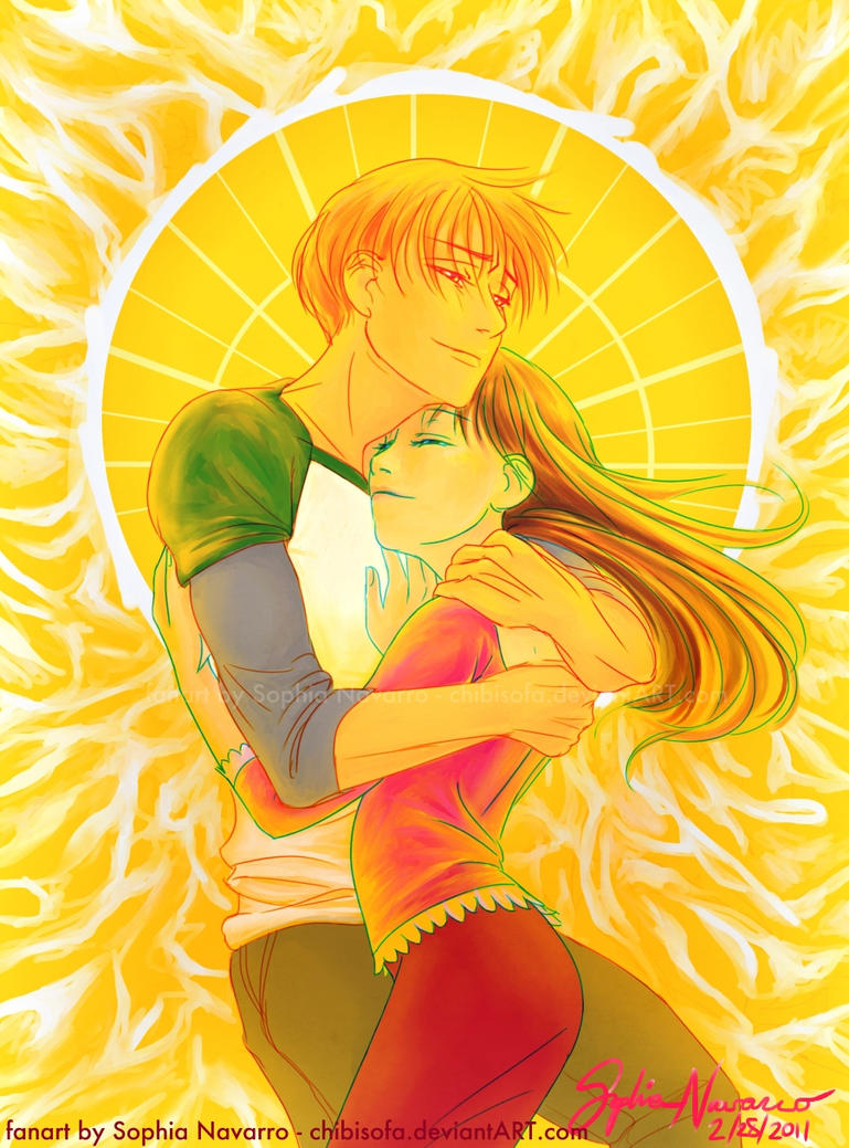 Bed of Sun - Kyo + Tohru by ChibiSofa