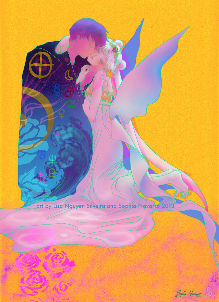 Klimt Moon AX 2013 by ChibiSofa