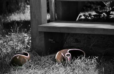 Brown shoe Brown shoe by goss0063
