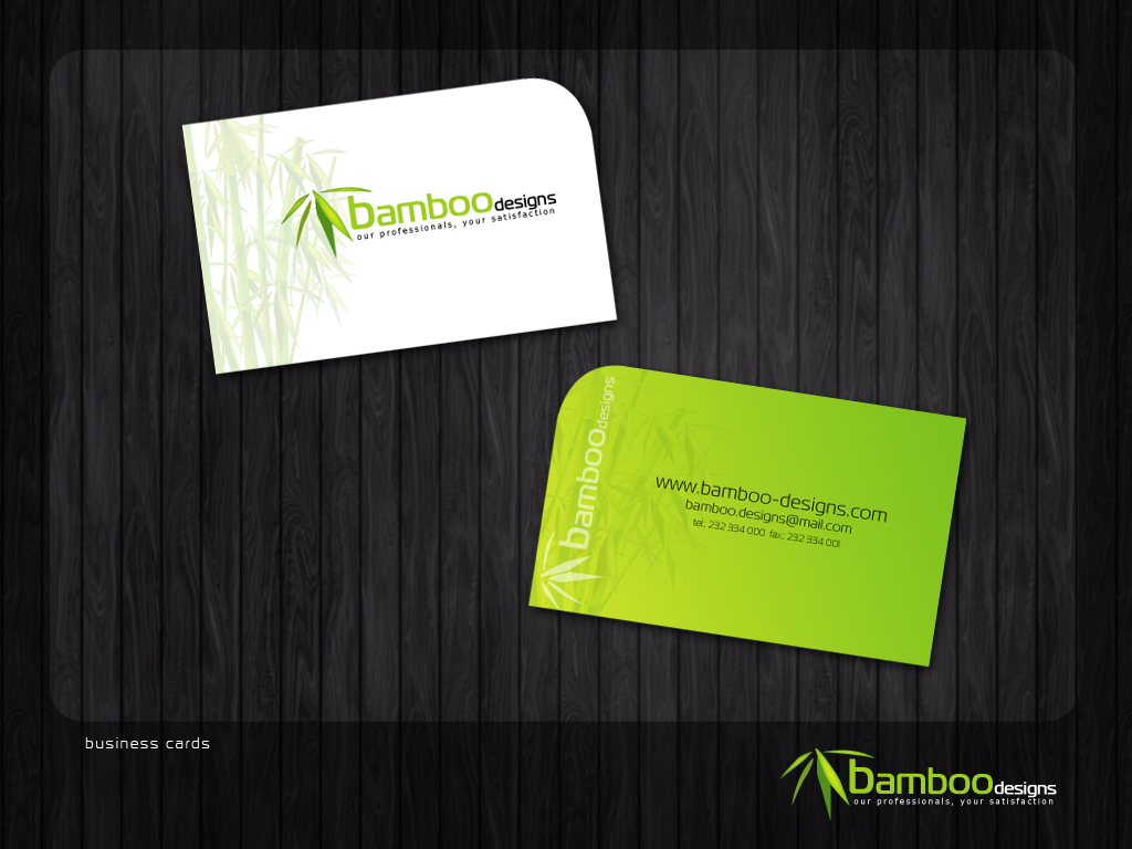 Bamboo Designs Business Cards by danielfdsilva on DeviantArt