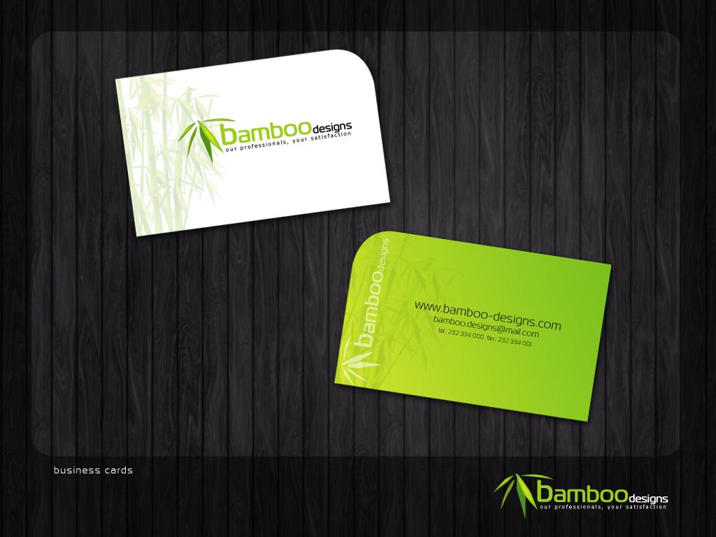 Bamboo Designs Business Cards by danielfdsilva on DeviantArt