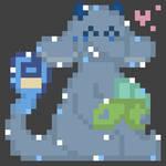 Zane! - Commission - Pixelart